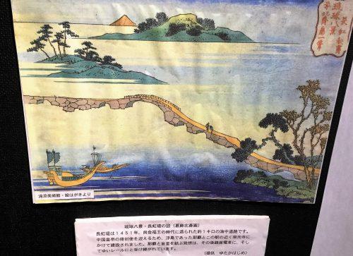 葛飾北斎の長虹橋ゆいレール展示館でわかる沖縄鉄道の歴史