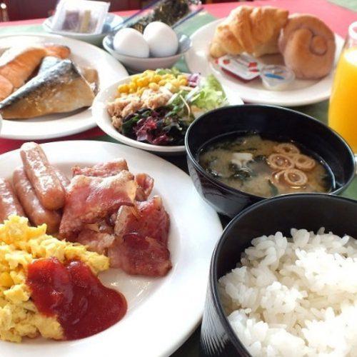 レッドプラネットホテル那覇の朝食は和洋バイキング