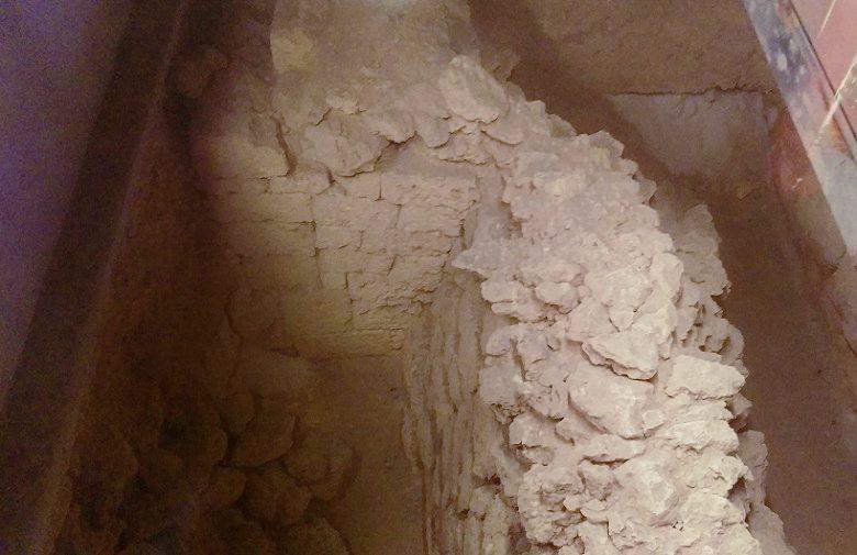 首里城正殿内に無料ガイドツアーで入っていくと見られる世界遺産の遺構