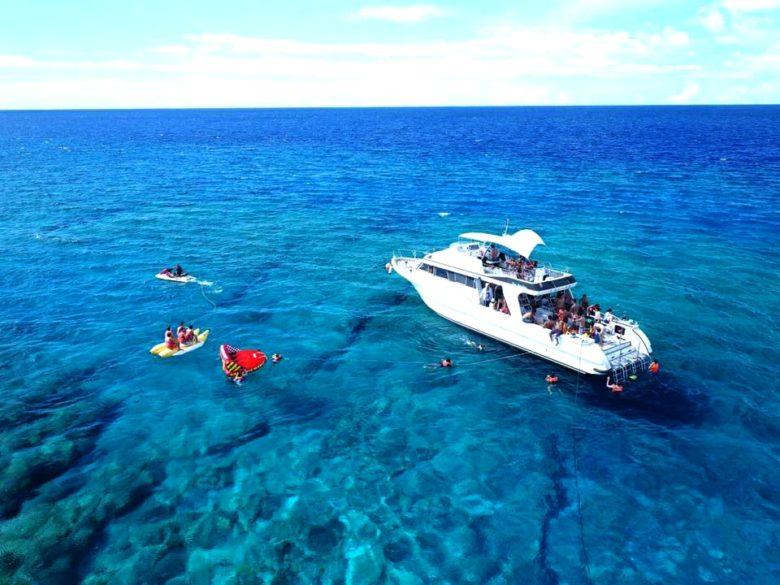 那覇から20分で行ける無人島の楽園「ナガンヌ島」