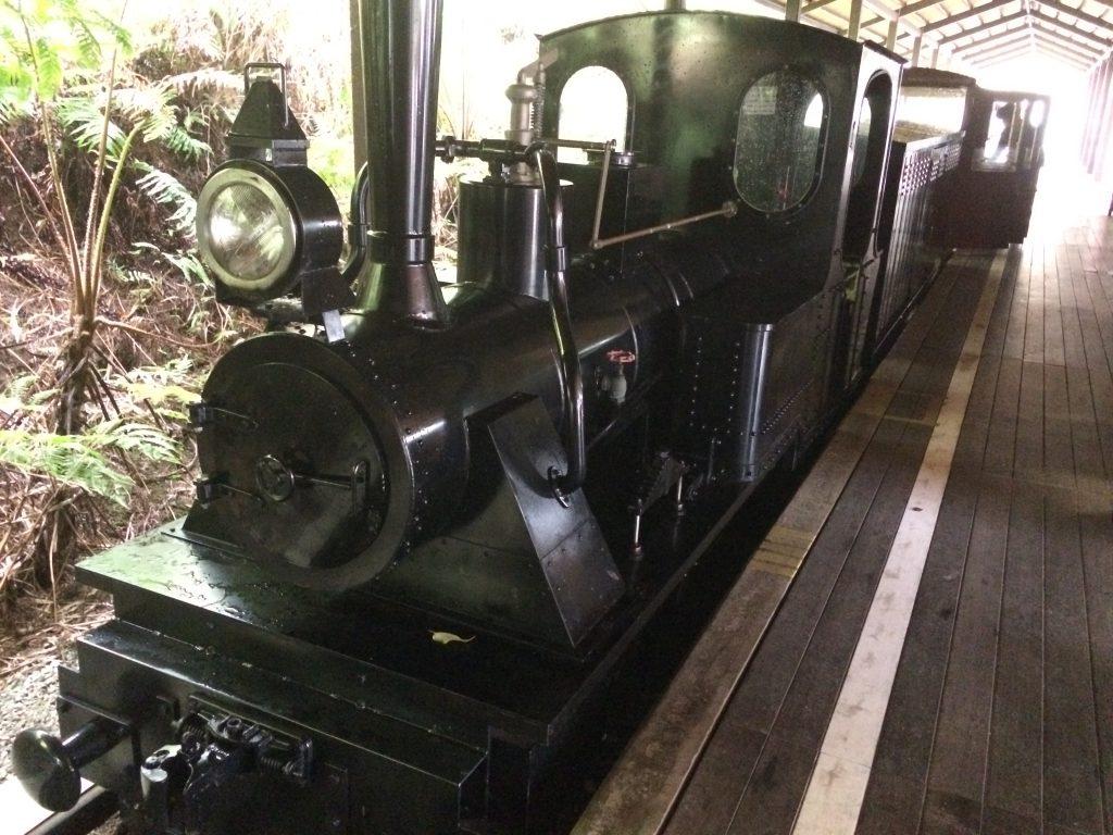 名護ネオパーク内の軽便鉄道