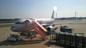 さぁ、沖縄へ。LCC格安航空の成田空港第3ターミナル