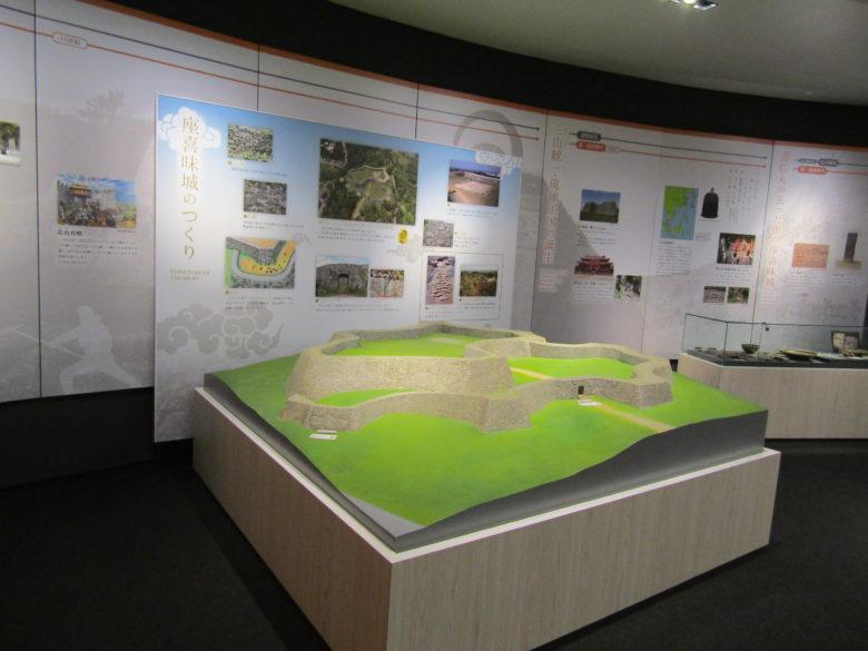 座喜味城跡にあるユンタンザミュージアム