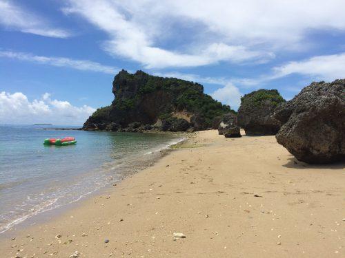 浜比嘉島のムルク浜