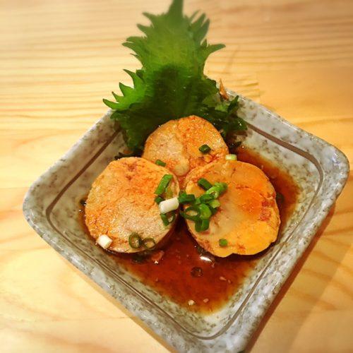 那覇の大輝鮮魚店、あん肝は絶品 沖縄であん肝が食べれるなんて、それも臭みもなく絶品なあん肝が堪能できます。
