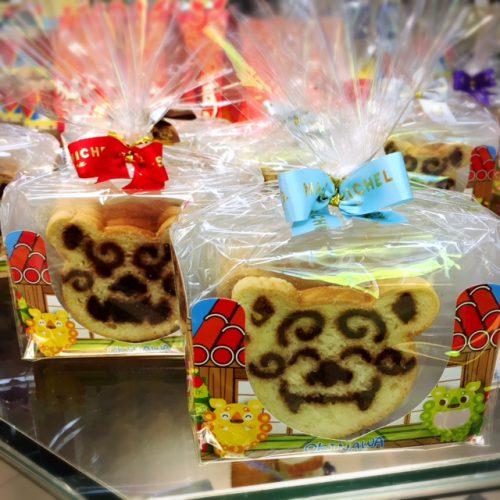 那覇空港で帰る人気のお土産、人気のラスクもシーサー顔になると沖縄感いっぱい