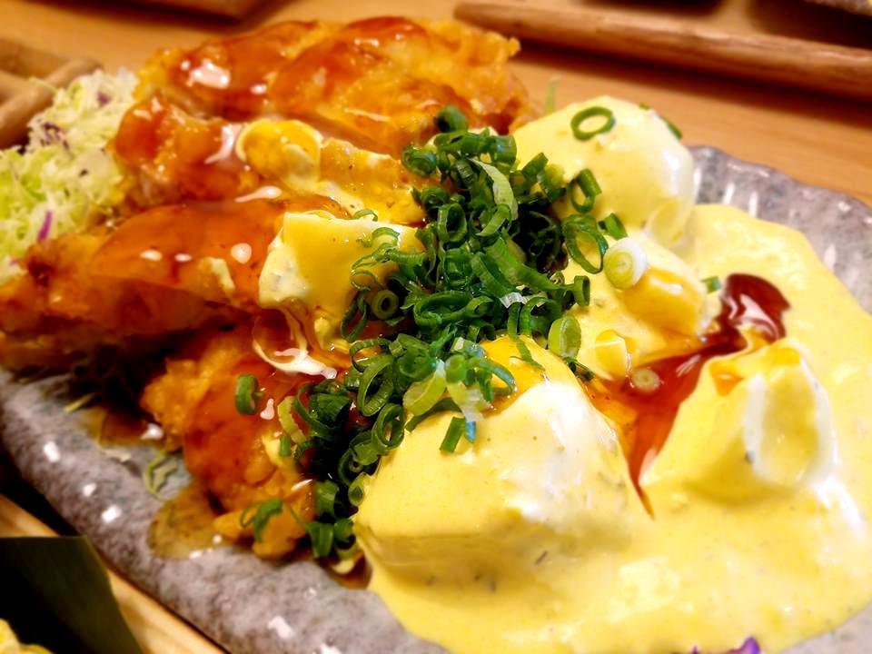 ゆで卵がゴロゴロの黄金タルタル!鳥と卵の専門店 鳥玉 那覇泉崎店♪
