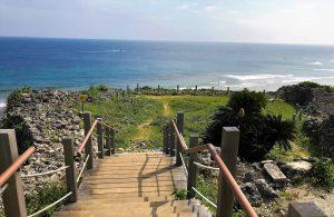 太平洋を一望できる穴場スポット糸満市「具志川城跡」