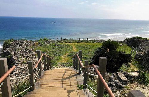 眺望抜群、沖縄本島最南糸満市の具志川城