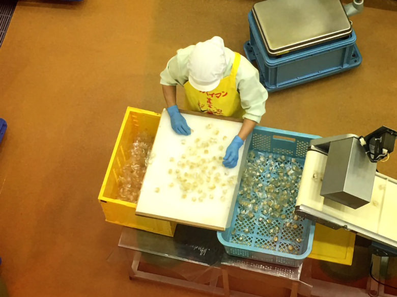 上間菓子店のスッパイマン工場見学