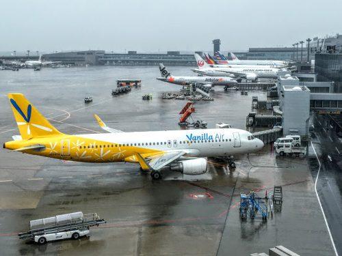 成田空港のバニラエア