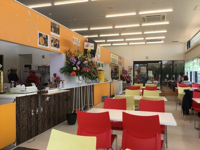羽地の駅のレストラン