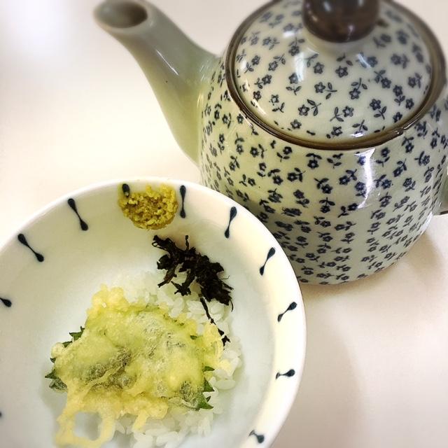 【那覇・天麩羅】沖縄県産の食材で作る、薄衣の京風天麩羅「桜囲」これが美味い天麩羅茶漬け