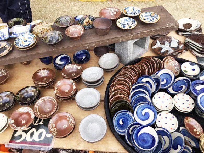壺屋陶器まつり2019にはやちむんがたくさん