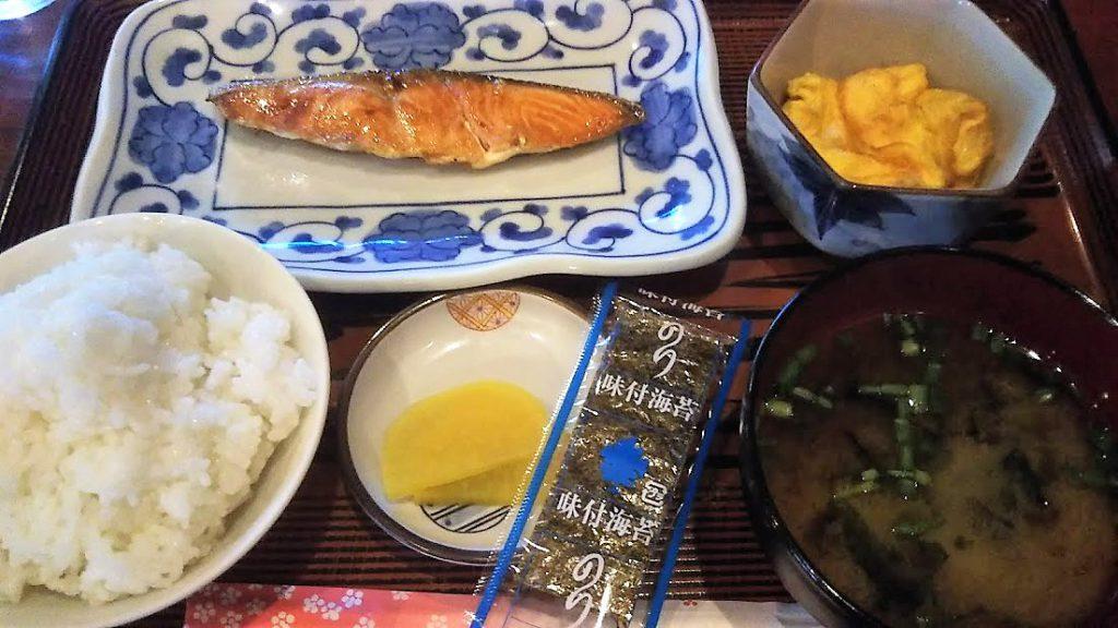 名護の茶話館朝食