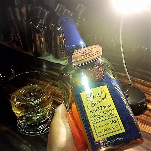安里のバーボンクラブボトル