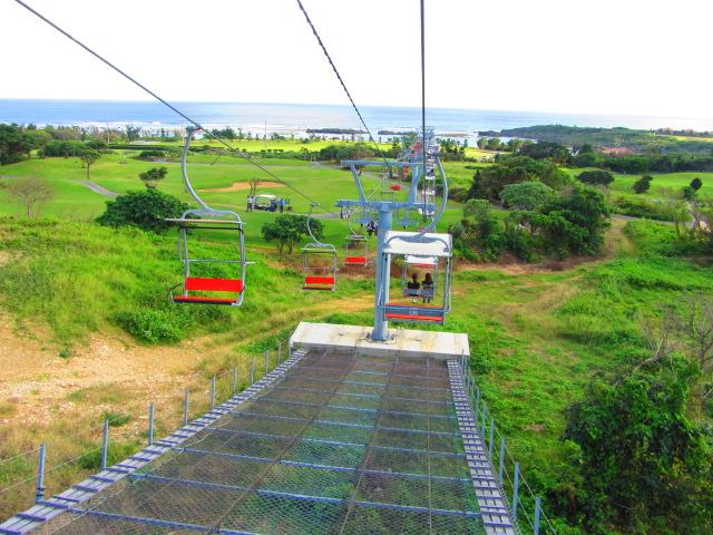 【珍百景】宮古島にスキー場のリフト