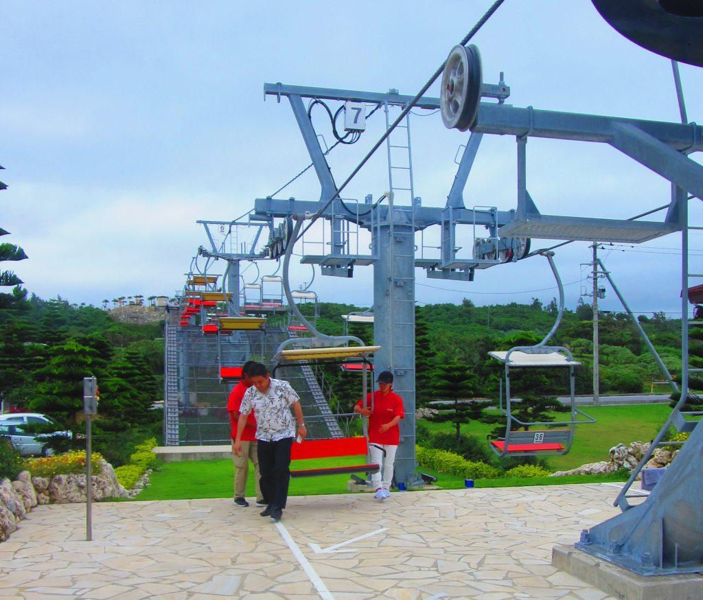 【珍百景】宮古島にスキー場のリフトの終点