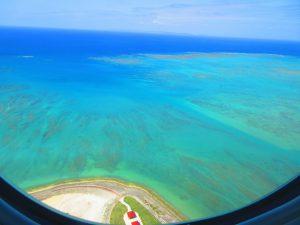 【後編・南から進入時】沖縄への飛行機、窓側席とるなら左側、右側?景色が見えるのはどっち?