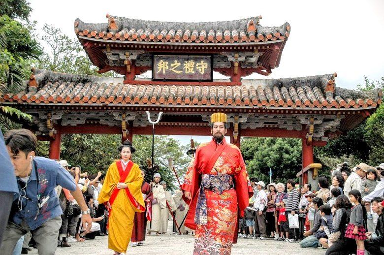 沖縄の秋祭り2019の首里城祭