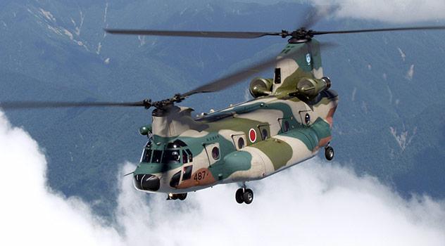 航空自衛隊CH-47J