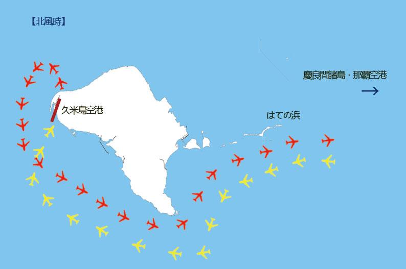 久米島への飛行機