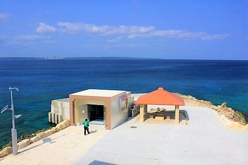 宮古島海中公園の入口