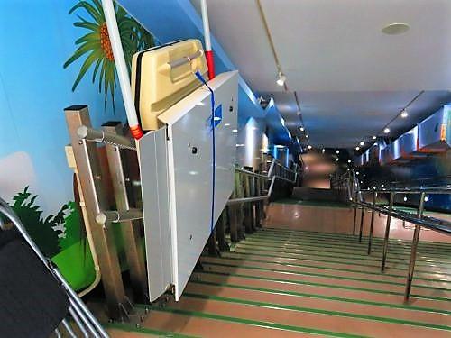 宮古島海中公園階段