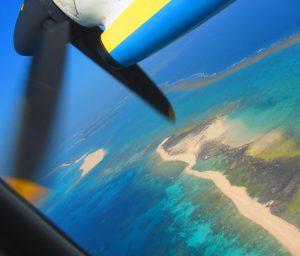 【飛行機の窓からの眺め・久米島編】窓側席とるなら左側、右側?