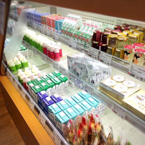 沖縄にある北海道のアンテナショップ「北海道くらし百貨店」乳製品