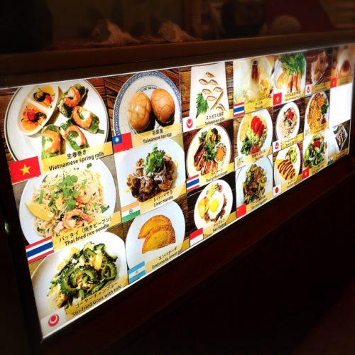 怪しい旅籠?!那覇浮島通りの熱風アジアな柏屋食堂メニュー