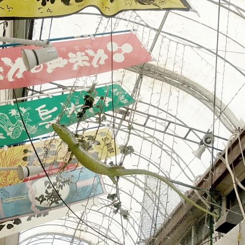 インスタ映え狙うなら那覇国際通り「むつみ橋商店街」で見上げよう!