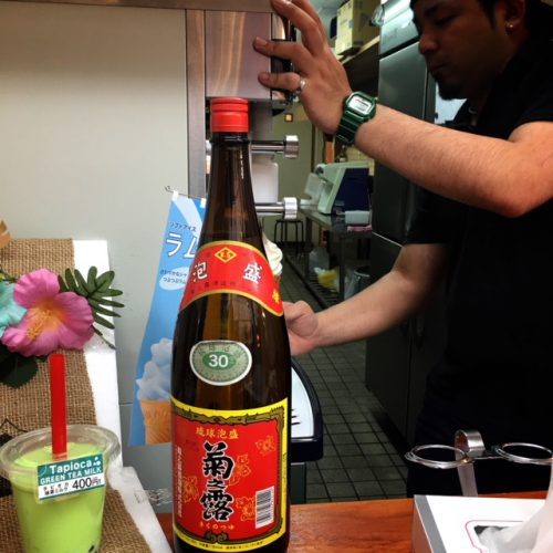 古酒プリンに続け!!沖縄限定「泡盛ソフトクリーム」