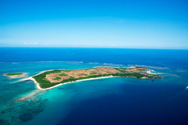 キャロットアイランド津堅島にも海上アスレチックが予定されてます。
