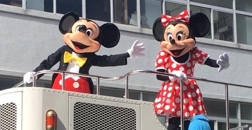 名護市で開催!ディズニースペシャルパレード in がじゅまるDE街バル