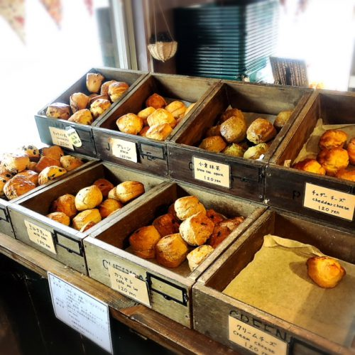 宜野湾市でちんスコーン?スコーン専門店「カフェ ニコリ」♪