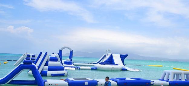 喜瀬ビーチパレス海上オーシャンパーク&海上アスレチック