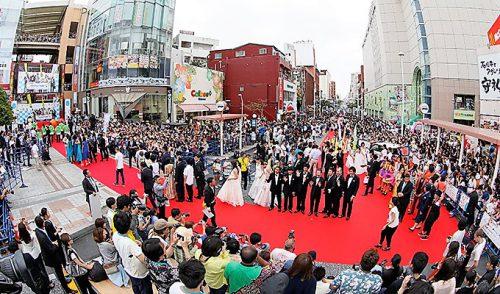 島ぜんぶでおーきな祭沖縄国際映画祭2018てんぷす那覇レッドカーペット