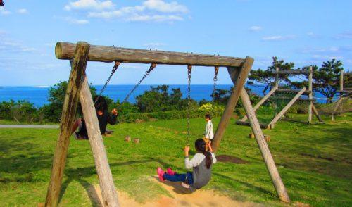 久米島の隠れたスポット銭田森林公園