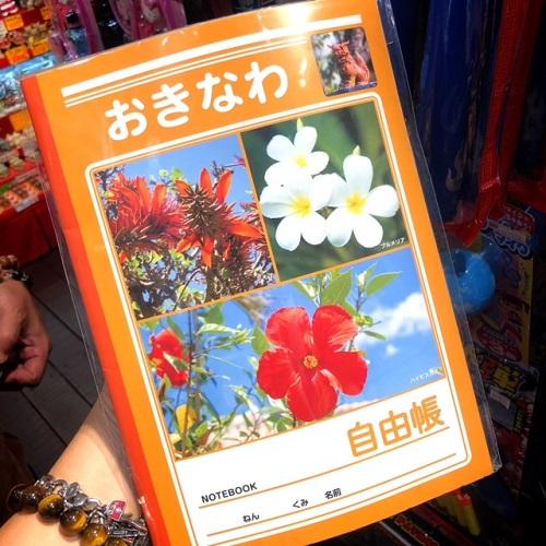 沖縄好きに喜ばれるお土産になる沖縄の花の自由帳