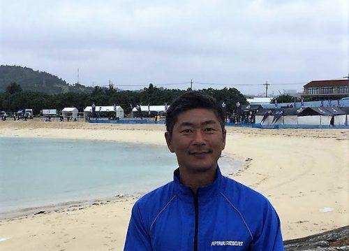西原きらきらビーチでマリンスポーツを企画するキャプテンリゾート近藤哲司さん