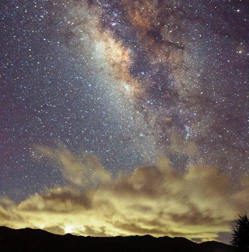 石垣の星空