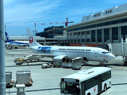 那覇空港の見学者デッキはどこで見るのが最高アムロジェット