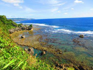 沖縄南部絶景パワースポット ギーザバンタ(慶座絶壁)