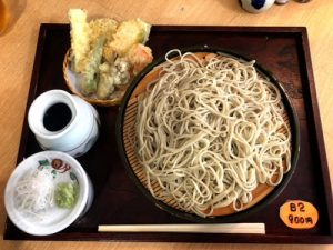 日本そば寶、沖縄県産野菜を使った天ざるはいかが?