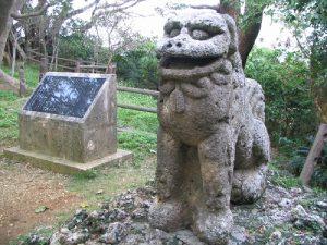 沖縄県最古のシーサー?八重瀬町「富盛の石彫大獅子」