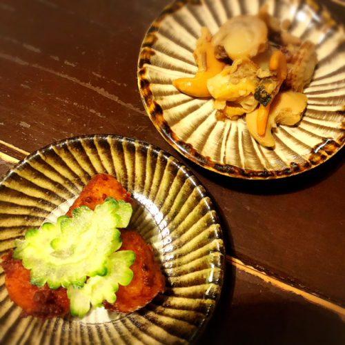 古民家居酒屋ではみ出るハラミ丼「沖縄料理ひとひねり 離~Hanare~」