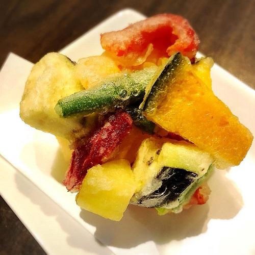 浦添市の外人住宅で絶品日本そばランチ「蕎麦と肴処 和ノ実」の天ぷら