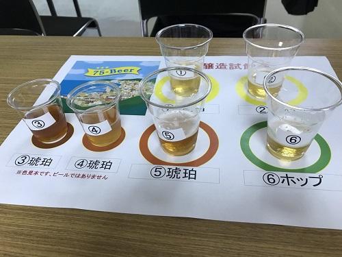 沖縄・名護でしか飲めないビール?!「75(なご)ビール」の試飲会