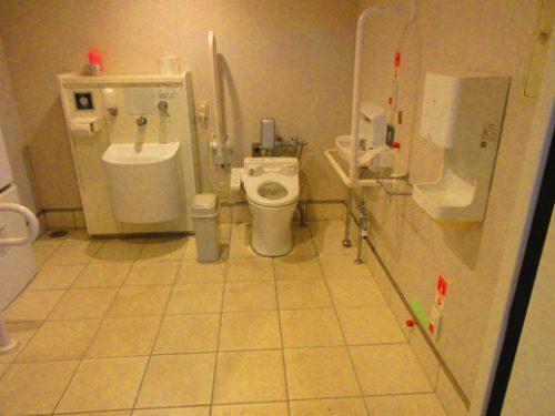 沖縄本島北部の離島伊是名島に向かうフェリーいぜな尚円トイレ